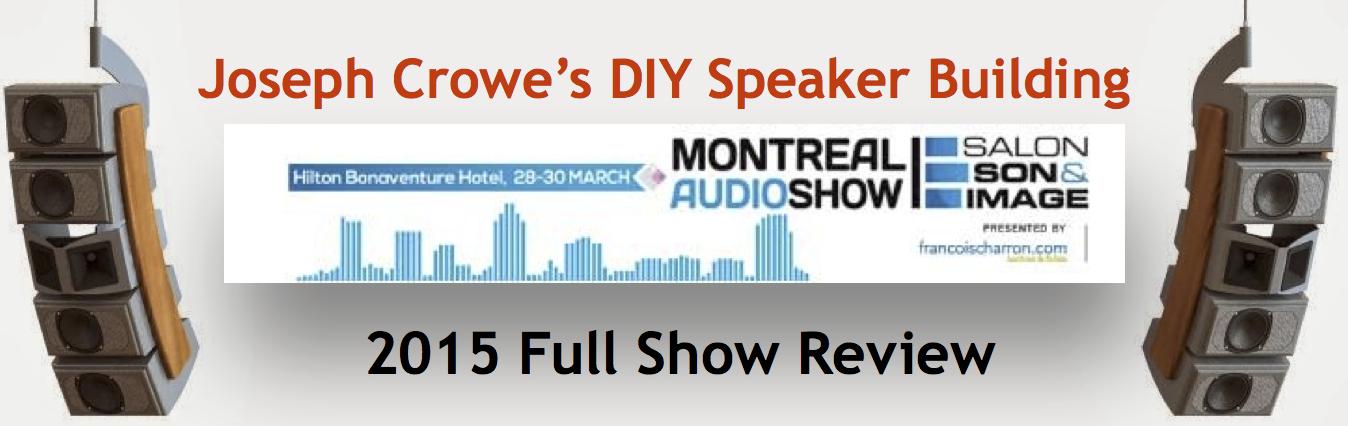 Joseph Crowe's Speaker Building Blog Header