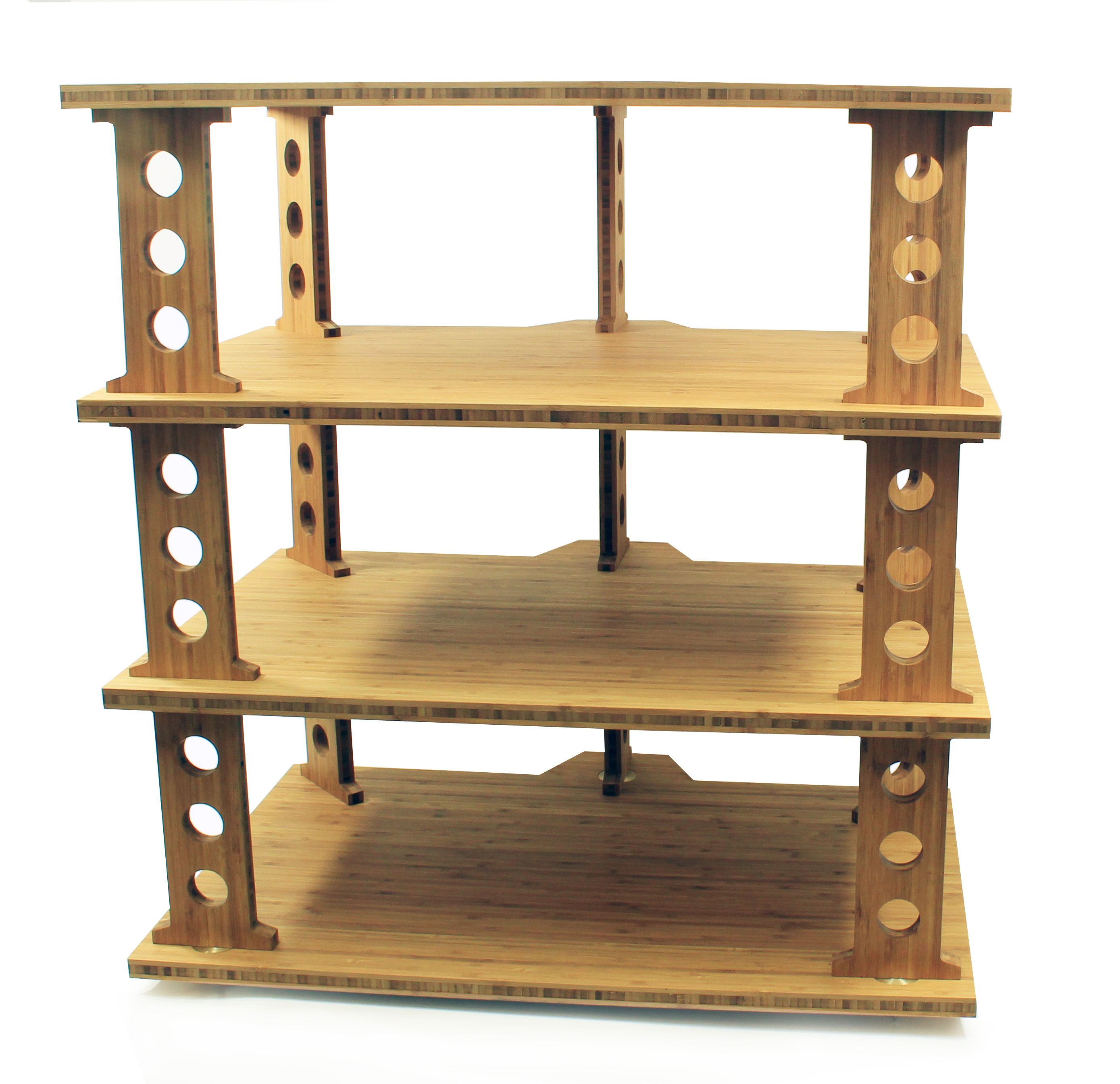 tri-art audio 4 shelf equipment stand
