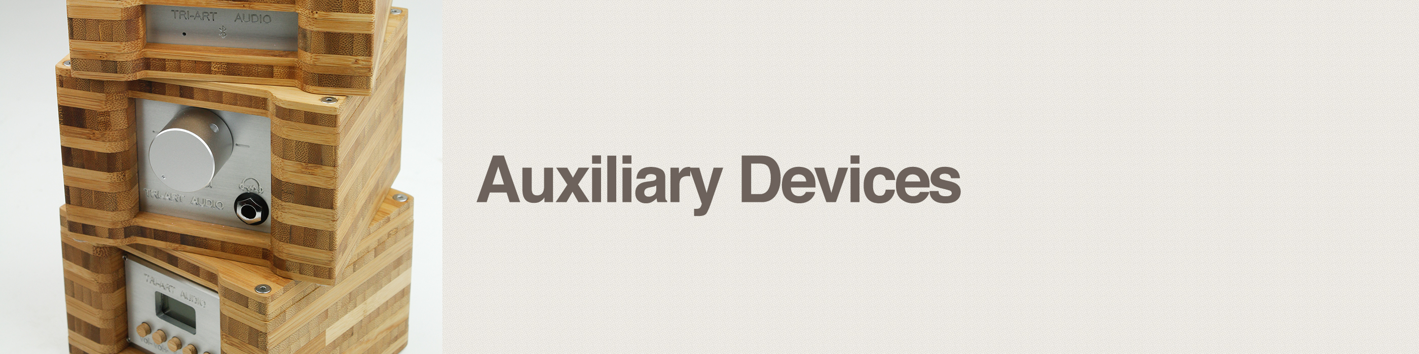 auxiliary devices header