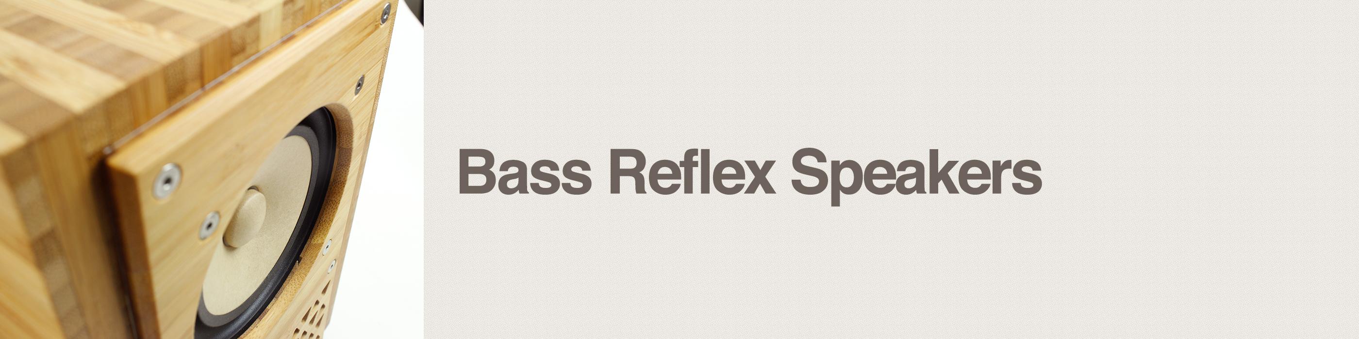 bass reflex speakers header