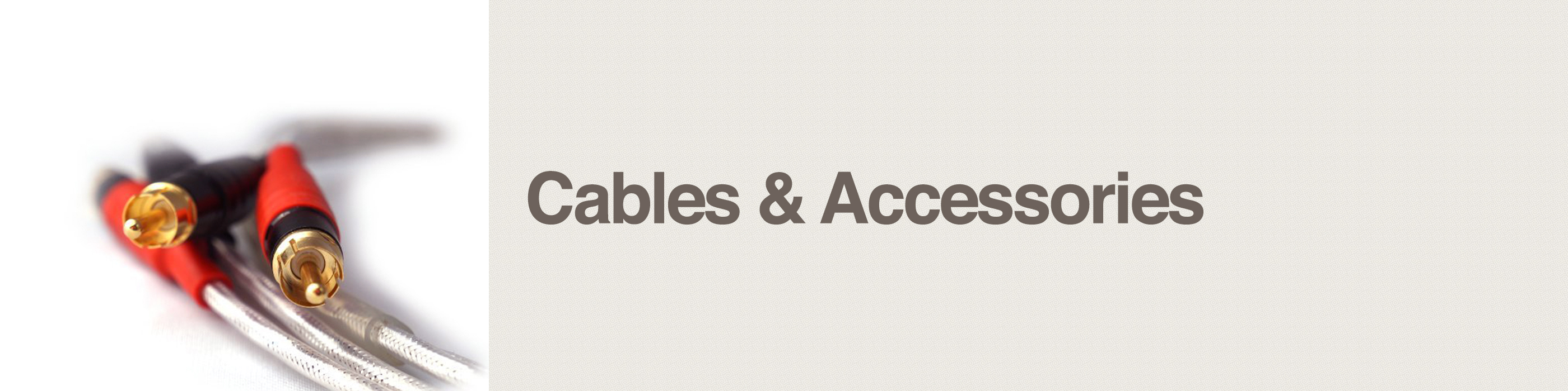 cables and accessories header