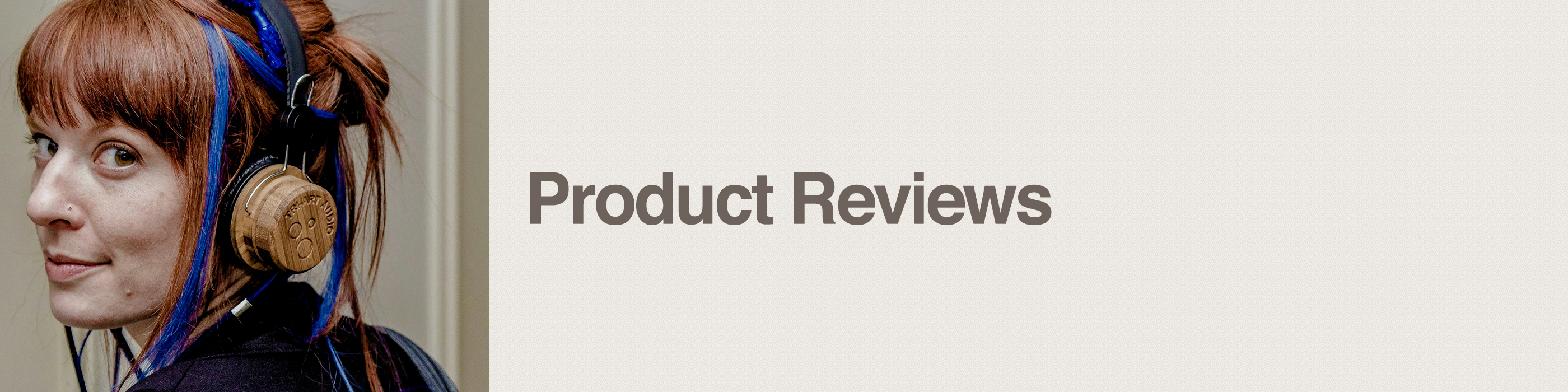product reviews header