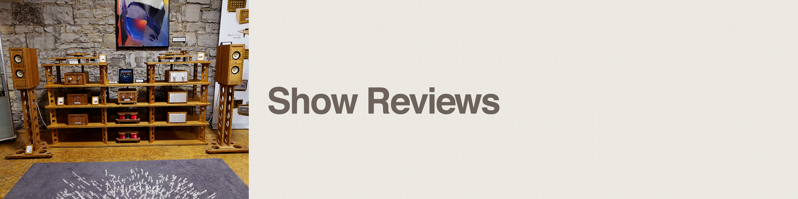 show reviews header