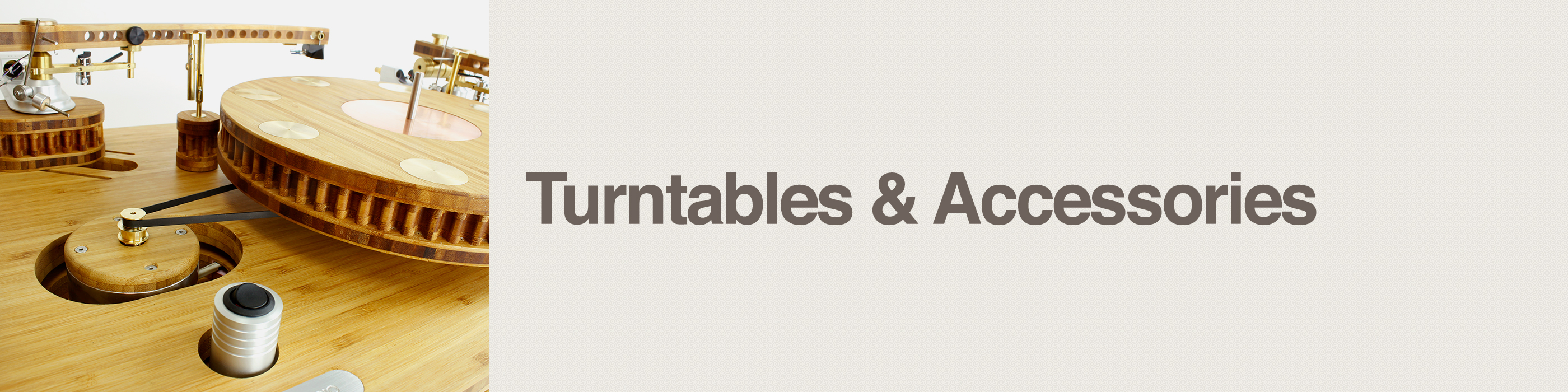 turntabes and accessories header