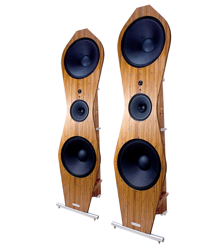 b series 5 open speaker pair.