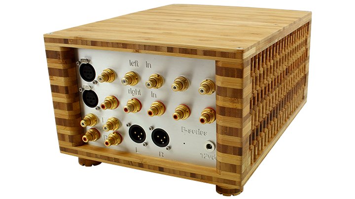 b series passive pre amplifier back