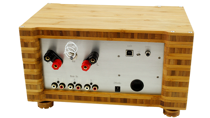 p series 35 watt receiver back.