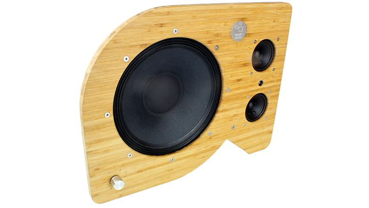 s series bookshelf open speaker front.
