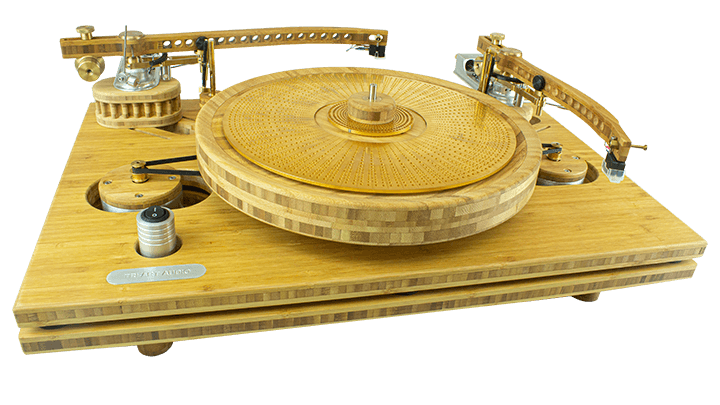 b series ta 2 turntable with tonearms and auto lift.